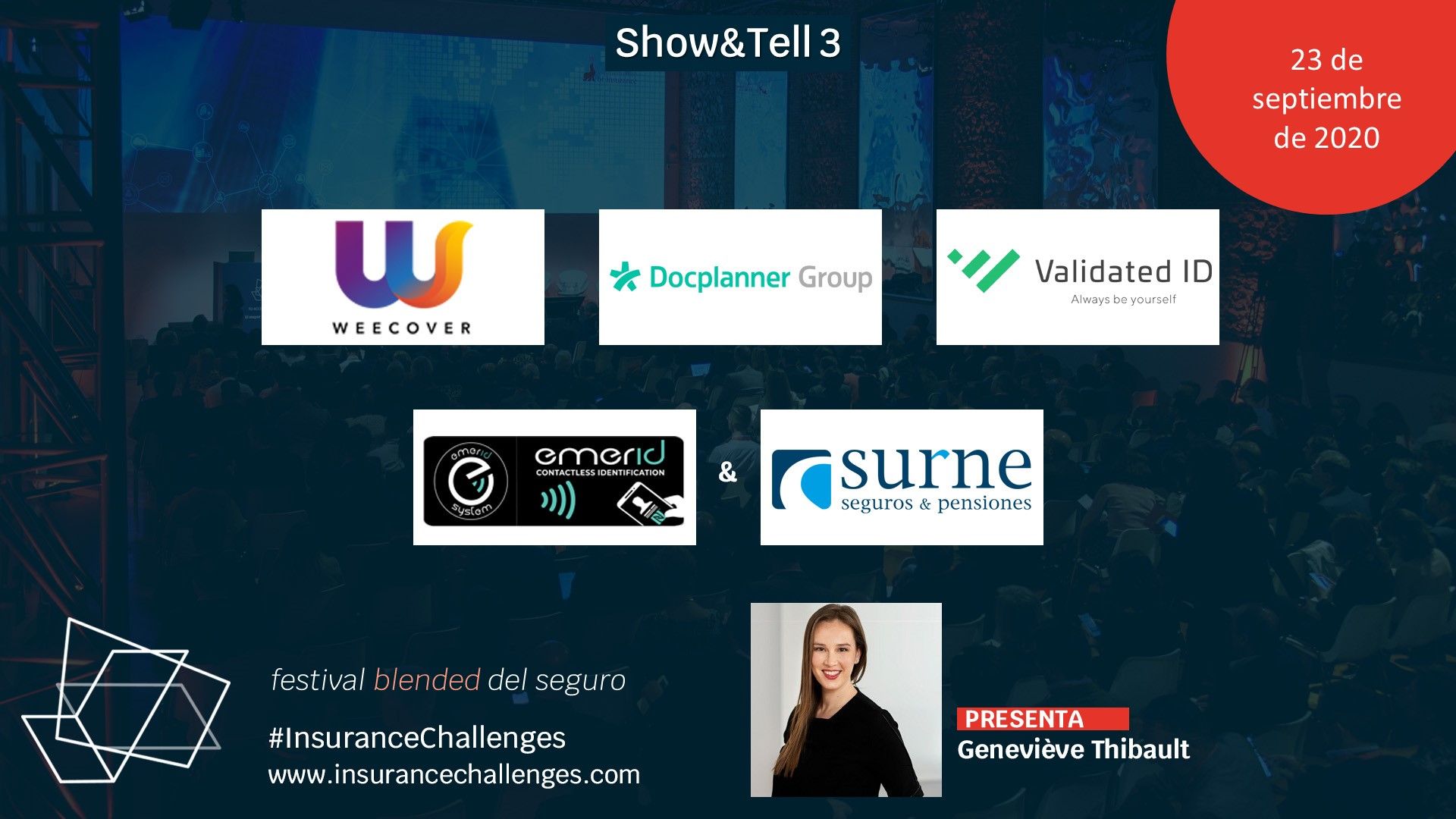 Weecover en el Insurance World Challenges 2020