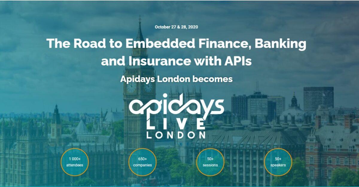 Participamos en el APIDAYS LONDON